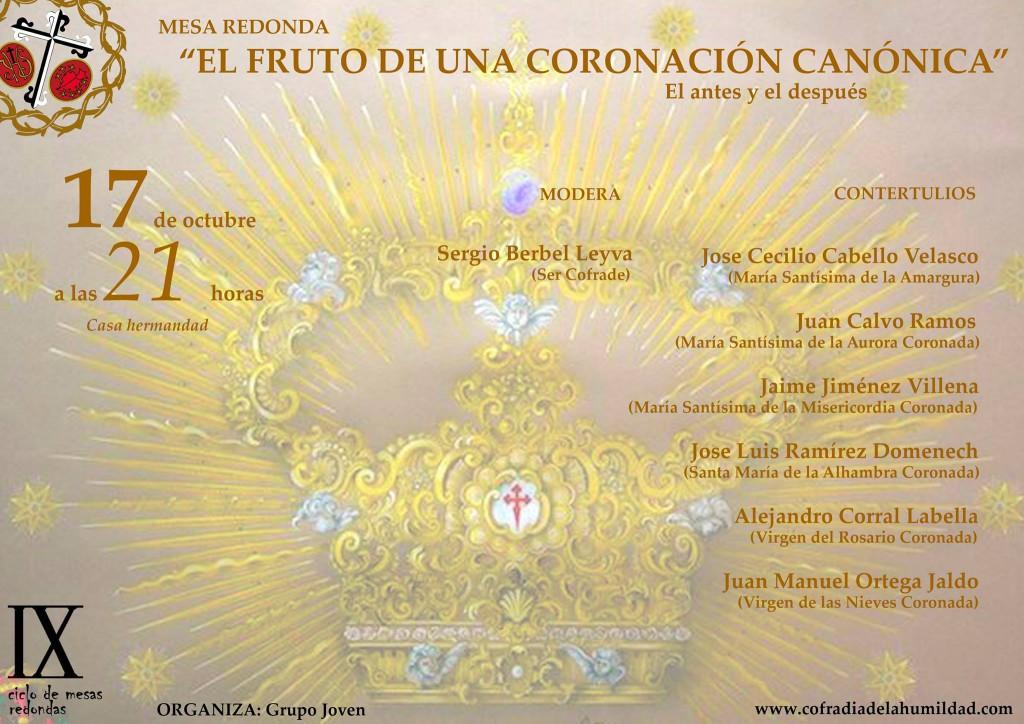 Mesa Redonda el Fruto de una Coronación Canónica