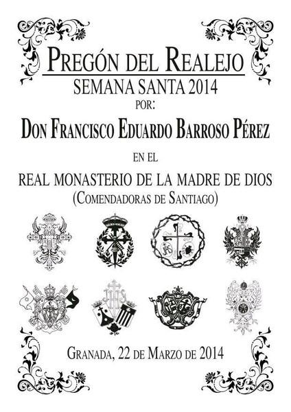 Cartel Pregon del Realejo