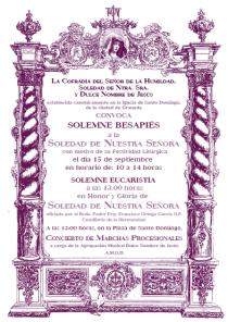 Cultos Soledad 2012