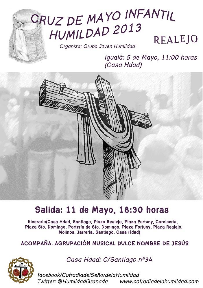 Cartel Cruz de Mayo  2013