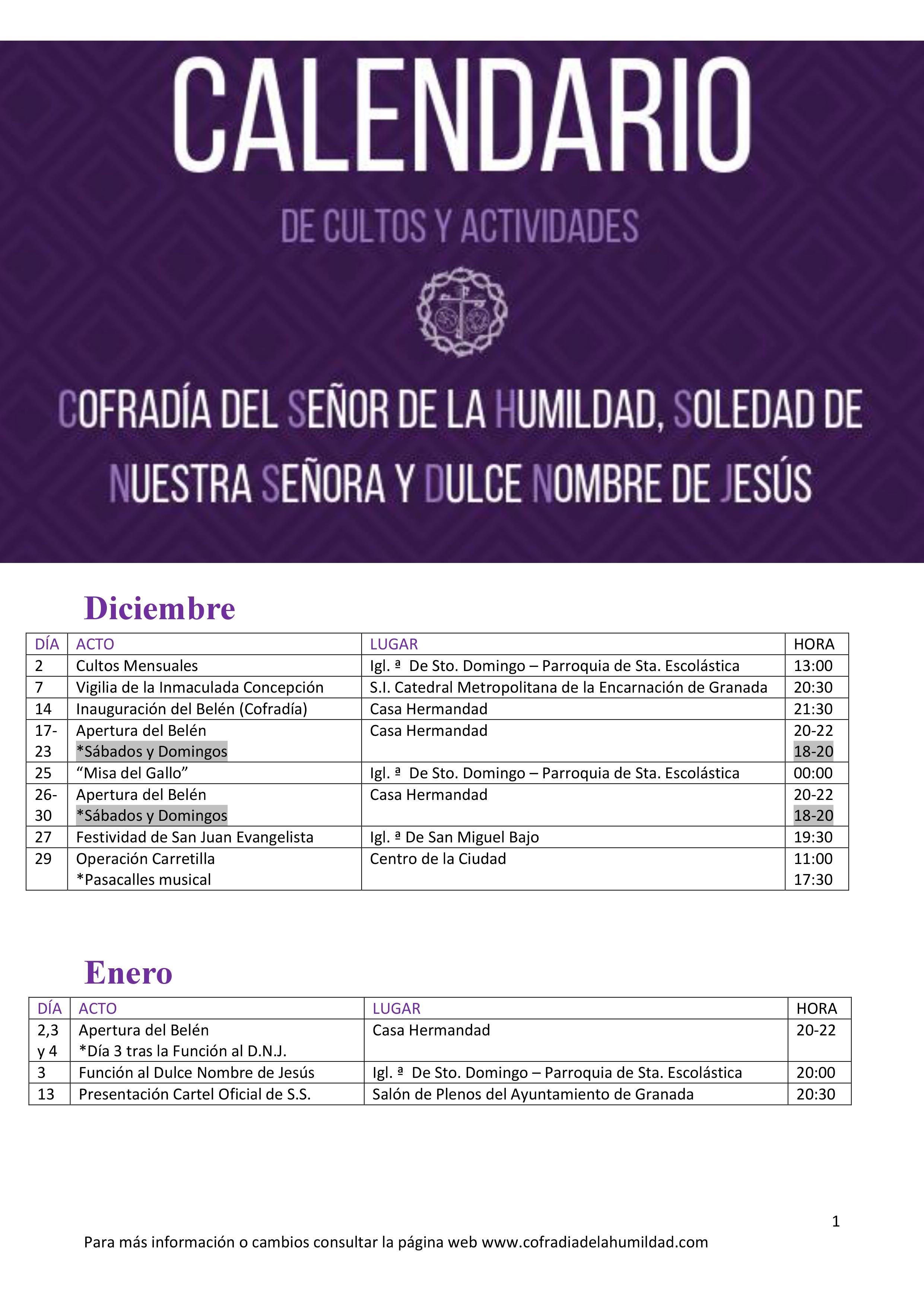 calendario cofradia humildad 2018-19 (2)