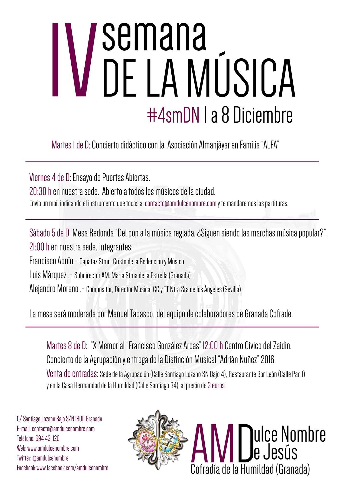 IV semana de la música