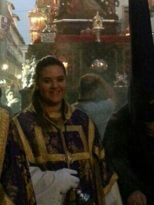 Celia Cuevas Arrabal, Martes Santo 2016