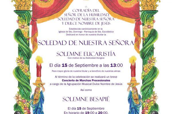 Orla Soledad Septiembre 2019