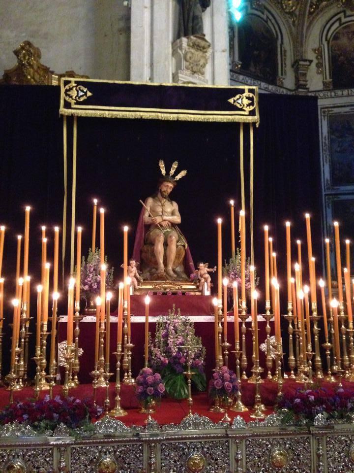 Altar al Señor de la Humildad 2014