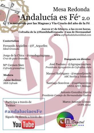 Cartel Andalucia es Fe