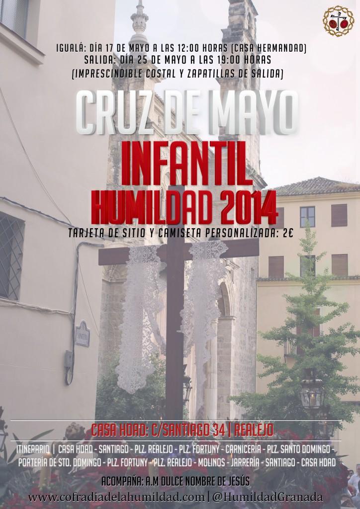 Cartel Cruz de Mayo Infantil 2014 REDESSOCIALES