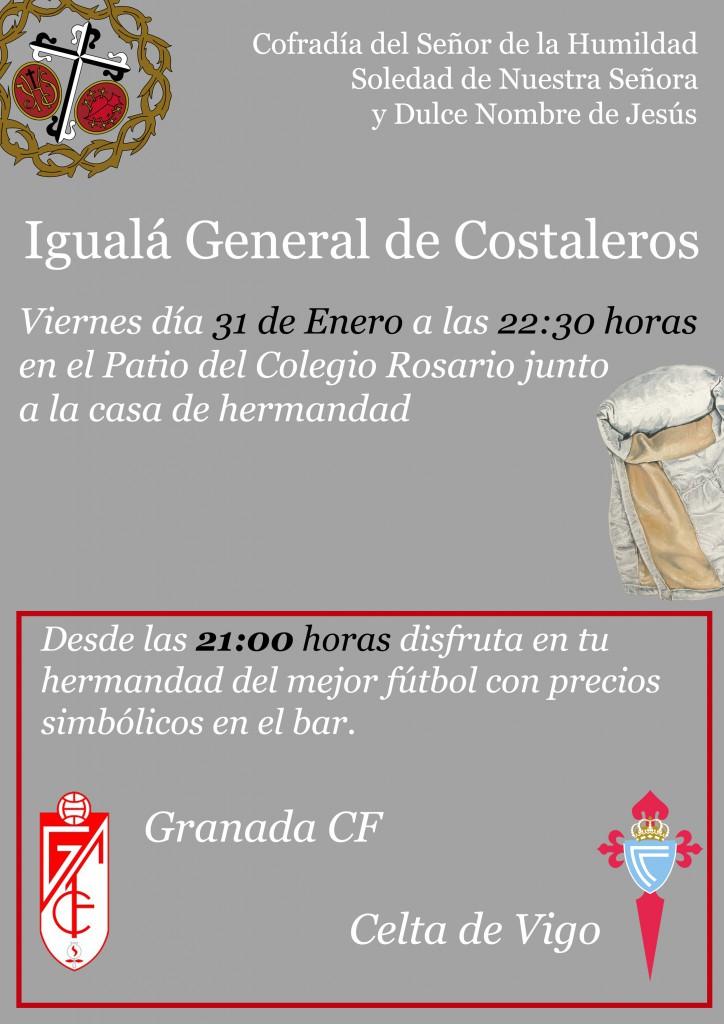 Iguala General de Costaleros Humildad y Soledad