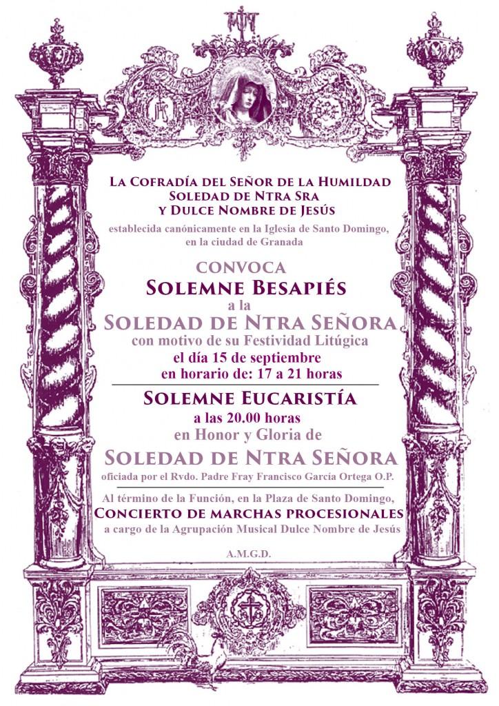Cultos Soledad 2015