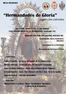 """Mesa Redonda """"Hermandades de Gloria"""""""
