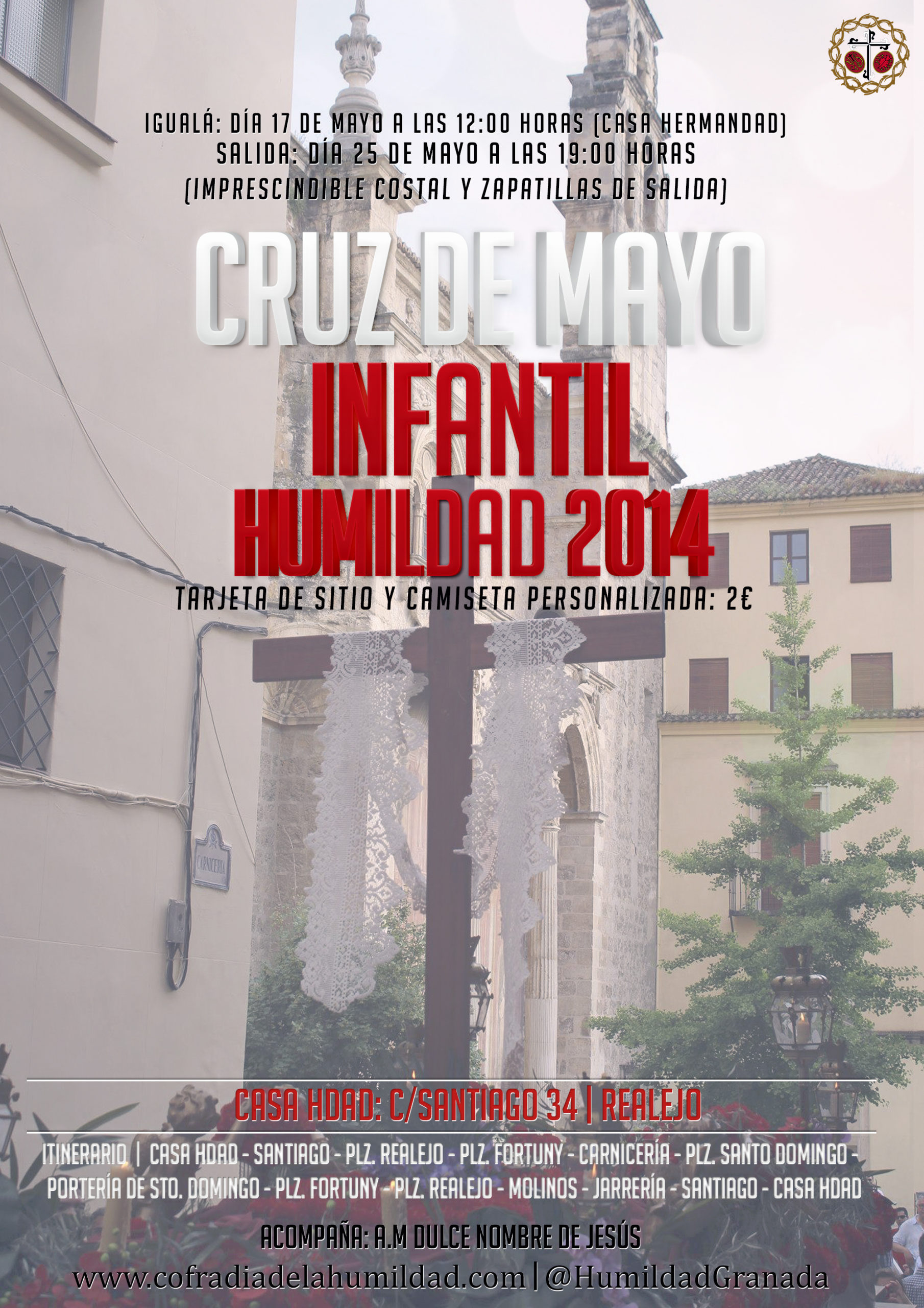 Cruz de Mayo Infantil Humildad 2014