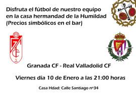 Granada – Valladolid en la casa hermandad