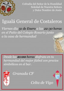 Igualá General de Costaleros 2014
