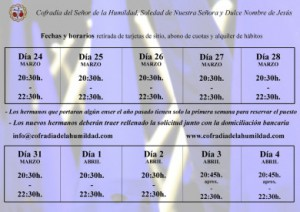 Retirada de tarjetas de sitio y alquiler de hábitos 2014