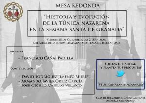 "Mesa Redonda ""Hábito Nazareno en Granada"""