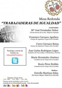 """Mesa Redonda """"Trabajaderas de Igualdad"""""""