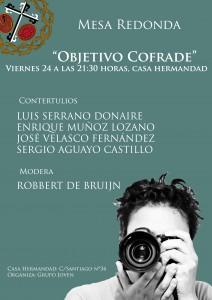 "Mesa Redonda, ""Objetivo Cofrade"""
