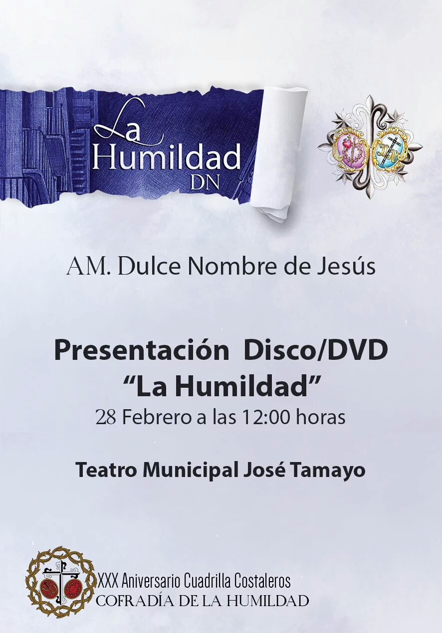 """Nuevo Disco/DVD """"La Humildad"""""""