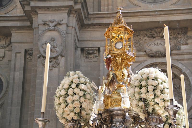 Representación en la Solemne Procesión del Corpus Christi
