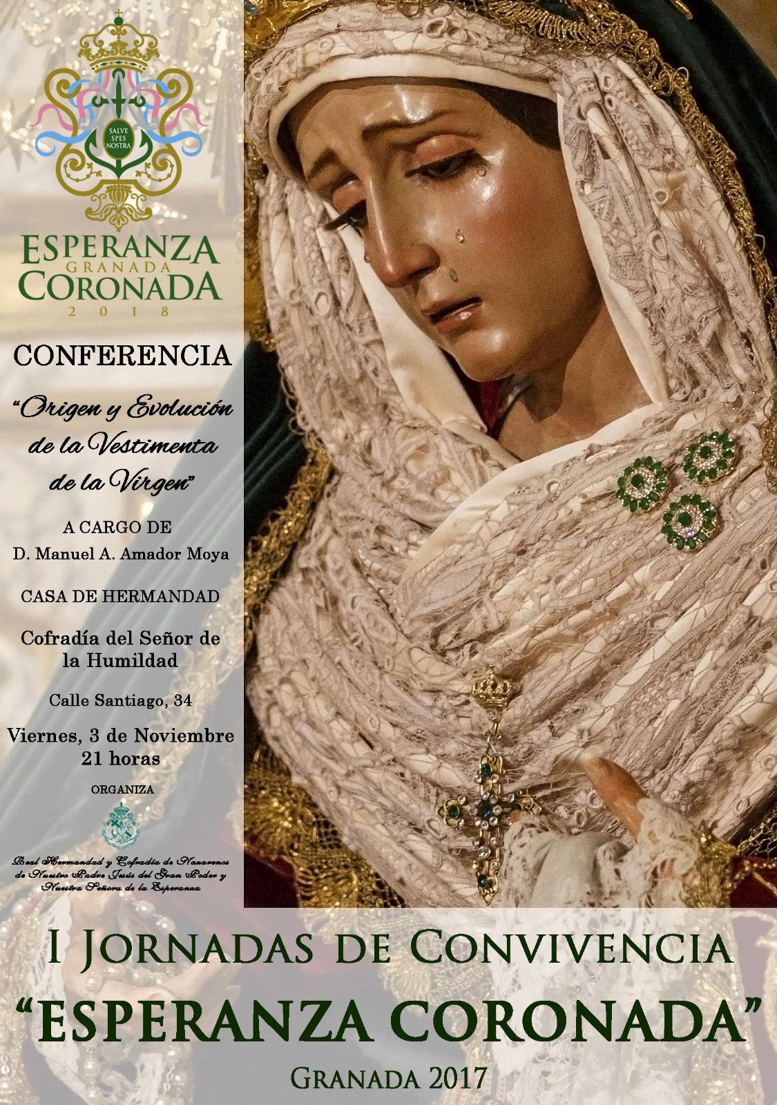 """I Jornadas de Convivencia """"Esperanza Coronada"""""""