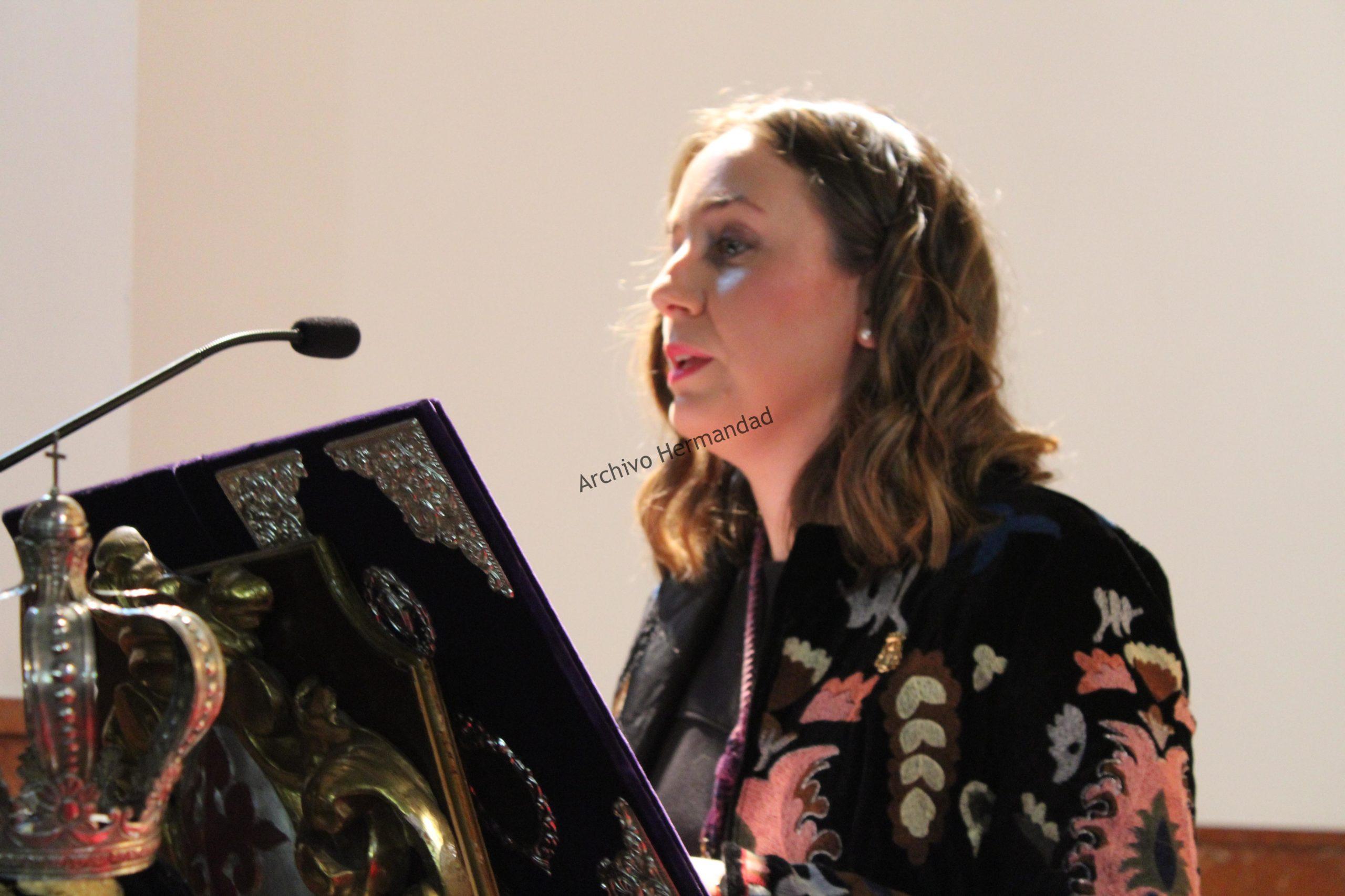 Pregón del Realejo de Elena Fernandez Hurtado