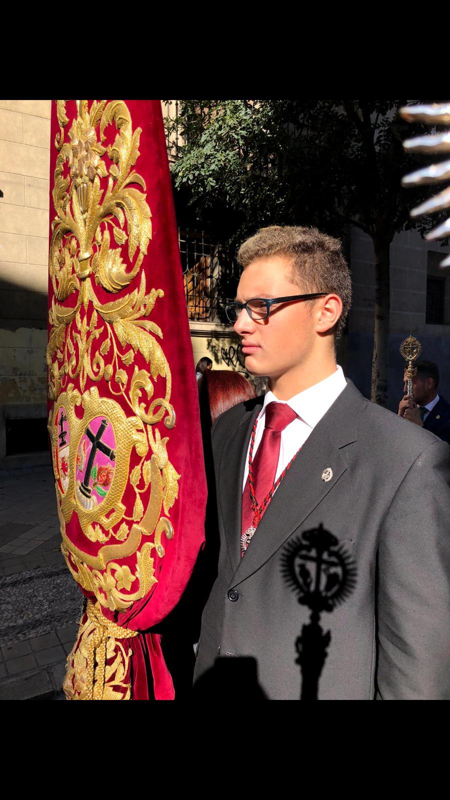 Enrique Muñoz Guerrero XXXVII Pregonero de la Juventud de la Semana Santa de Granada