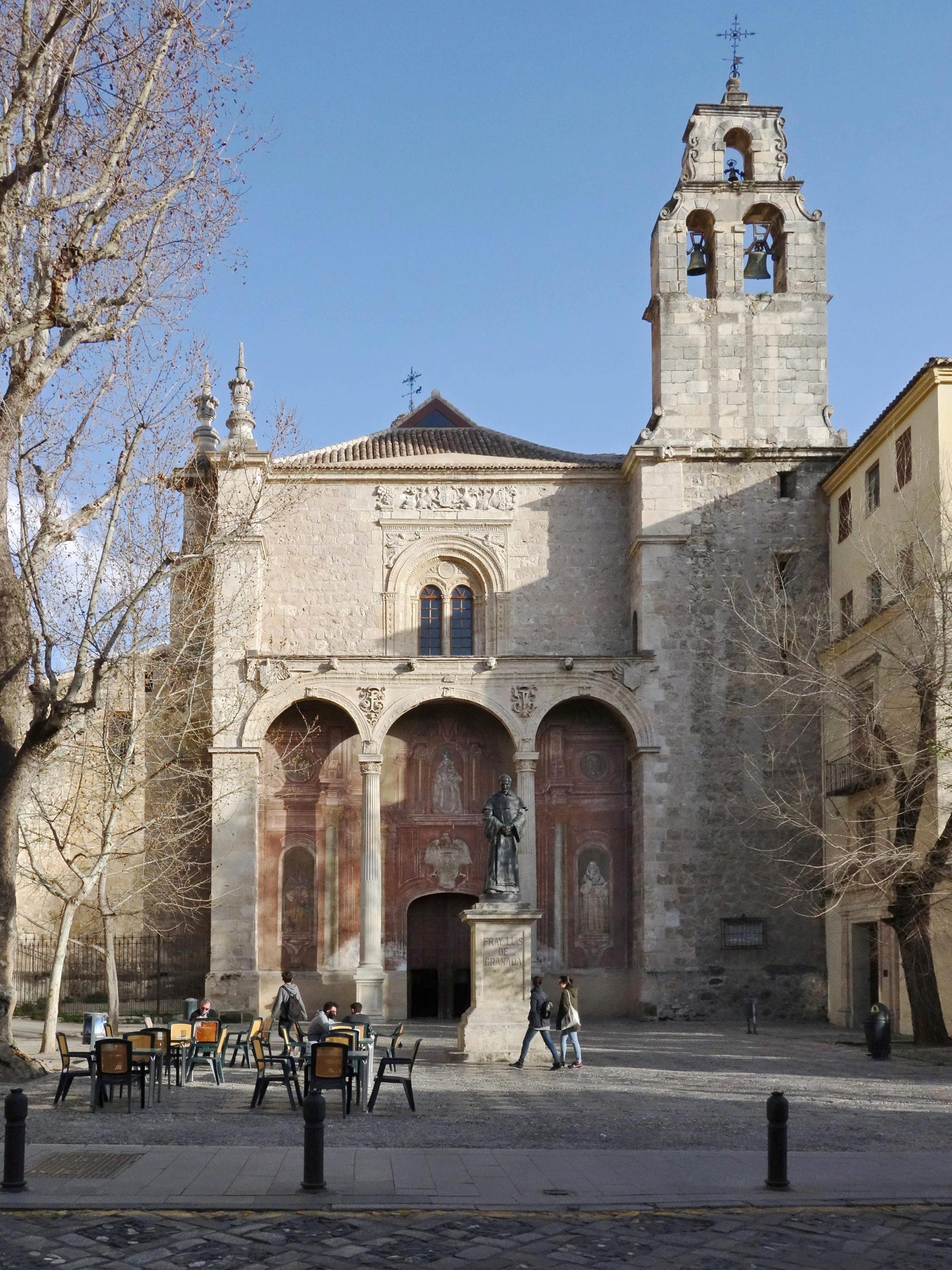 Iglesia de Sta. Cruz la Real (Sto. Domingo) - Parroquia de Sta. Escolástica
