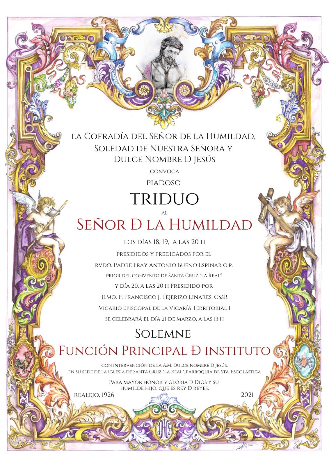 Solemne Triduo al Señor de la Humildad – 2021